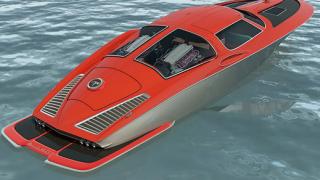 Chevrolet Corvette 63' насред океана
