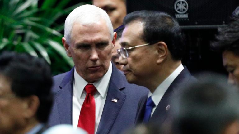Американският вицепрезидент Майк Пенс обясни в Сингапур, че няма място