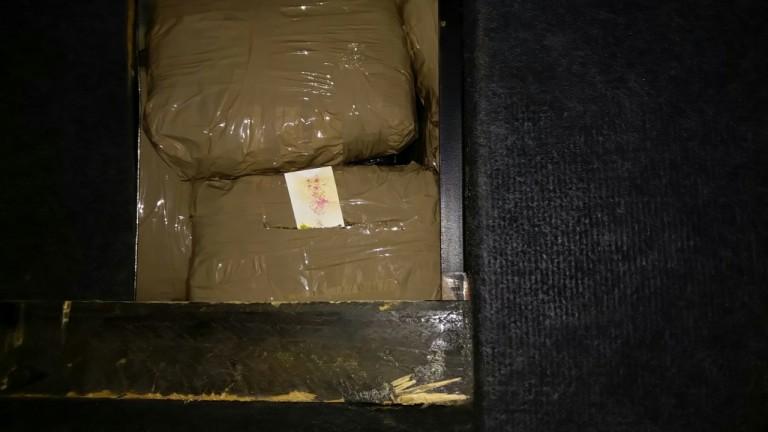Задържаха марихуана за близо 140 000 лева на ГКПП