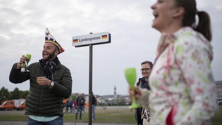 Германия отвори границата си с Люксембург
