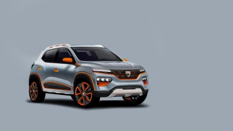 """Dacia представи """"най-достъпния електромобил"""", който ще струва около €15 000"""