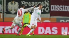 Аугсбург победи Борусия (Дортмунд) с 2:1