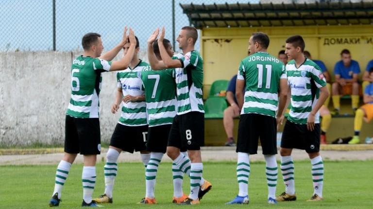 Черно море вкара пет гола на Марица (Пловдив)