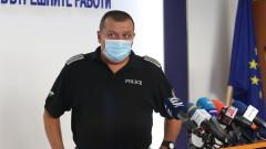 Полицията не е установила нарушение на водача, минал през крака на протестиращия