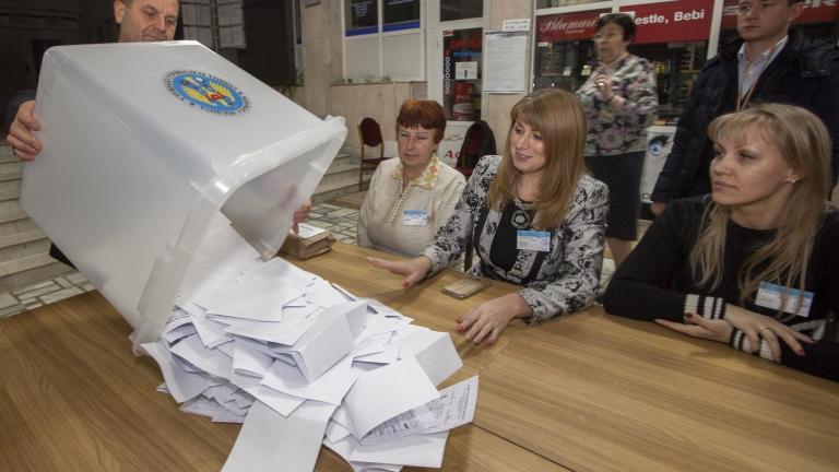 Проруският кандидат побеждава в Молдова