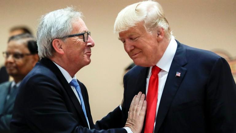 Юнкер при Тръмп: ЕС постигна повече, отколкото се надяваше