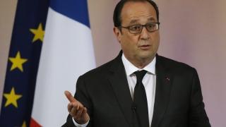 Оланд: Ще се борим с бича на тероризма