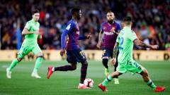 Официално: Дембеле пропуска Ел Класико заради червения картон срещу Севиля