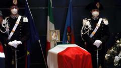 Предадоха го, вярва съпругата на убития посланик на Италия в Конго