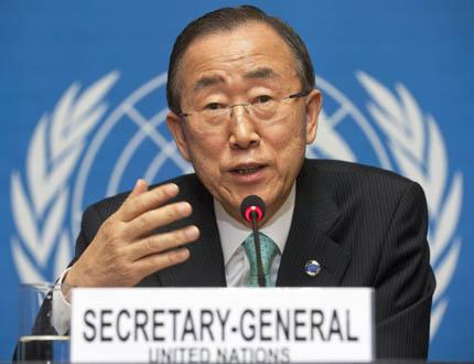 Бан Ки Мун осъди нападенията срещу американски посолства в арабските страни
