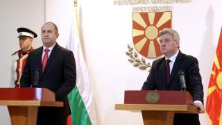 """""""Нова Македония"""": Румен Радев печели политически дивиденти на гърба на Македония"""