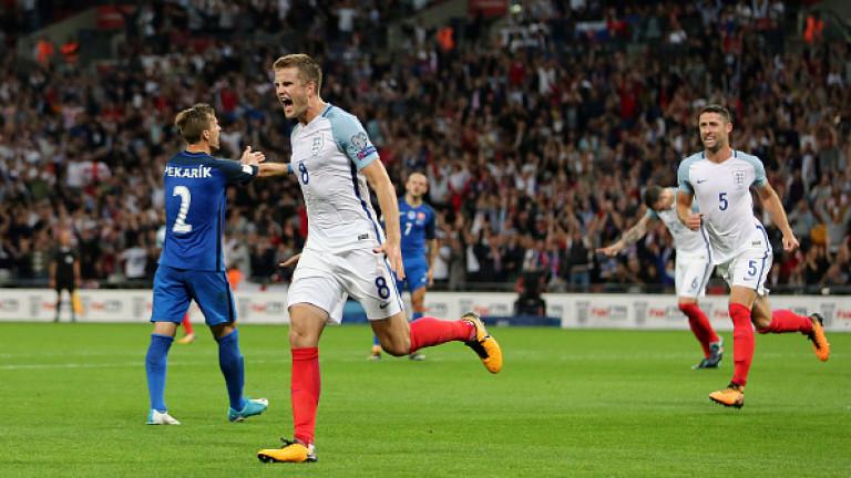 Англия победи Словакия с 2:1 у дома в решителен мач