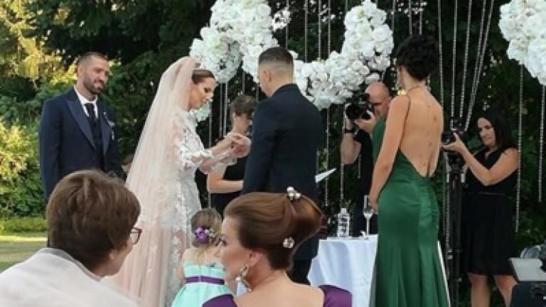 Виолета Сиракова се омъжи за своя любим Георги Коруджиев.