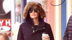 Анджелина Джоли се показа (СНИМКИ)