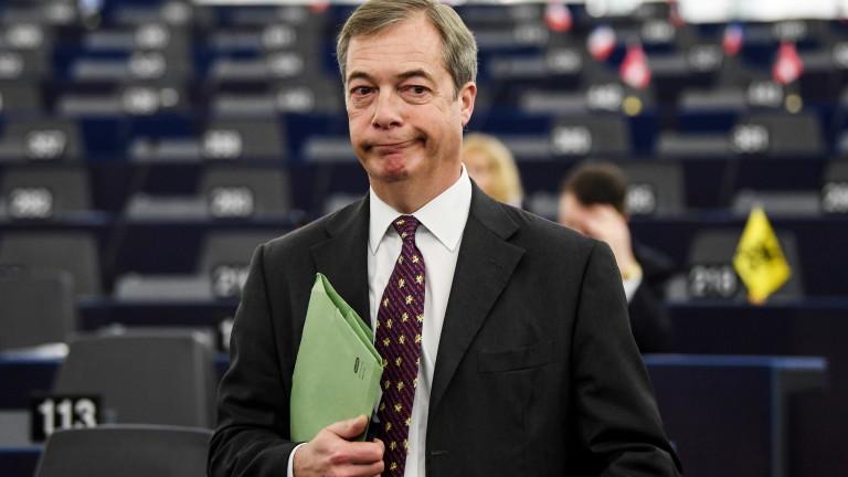 Снимка: Фараж: Великобритания вероятно отлага Брекзит и организира референдум