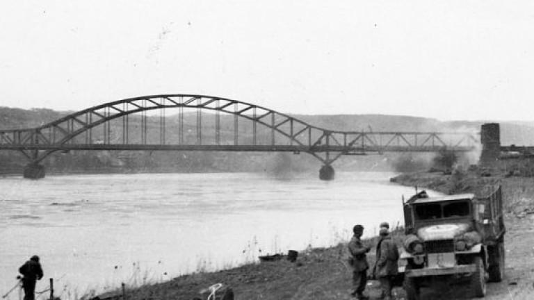 Един като по чудо оцелял мост над Рейн изиграва ключова