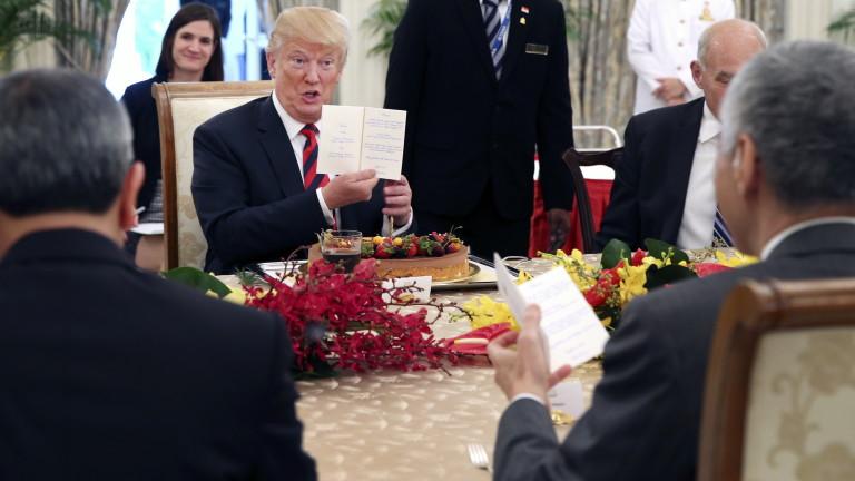 Белият дом разкри подробности за срещата Тръмп-Ким Чен-ун