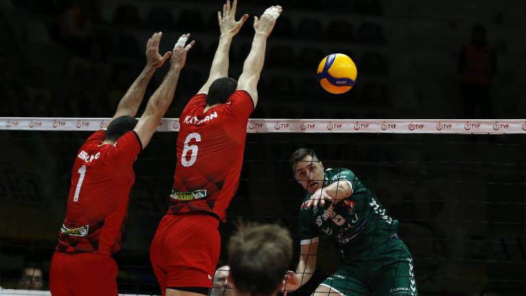 Европейската конфедерация по волейбол (ЦЕВ) взе решение да спре всички