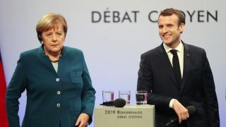 Макрон и Меркел представят общ френско-германски икономически план