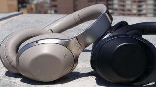Безжични слушалки на Sony с шумопотискане