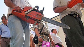 31 лесничеи от Хасково стачкуват ефективно