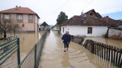 Сърбия се бори с наводнения, готви се за най-лошия сценарий