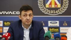 Красимир Иванов: Левски ще се бори за титлата и Купата на България