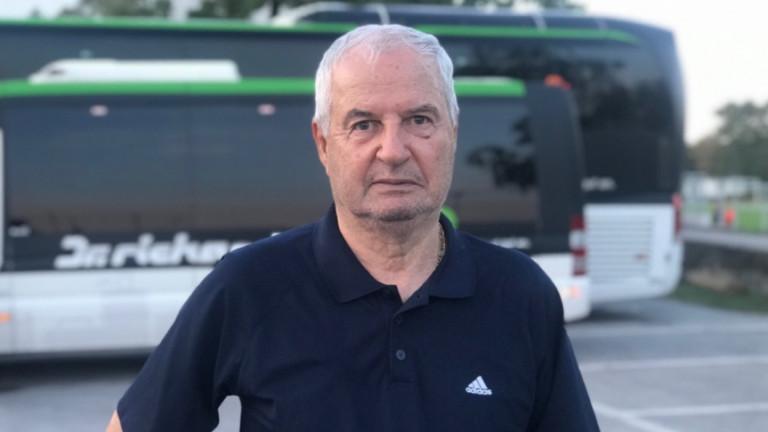 Футболният чародей Митата Якимов на 80 години!