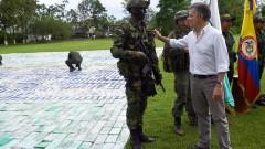 Рекордни 12 тона кокаин задържаха в Колумбия