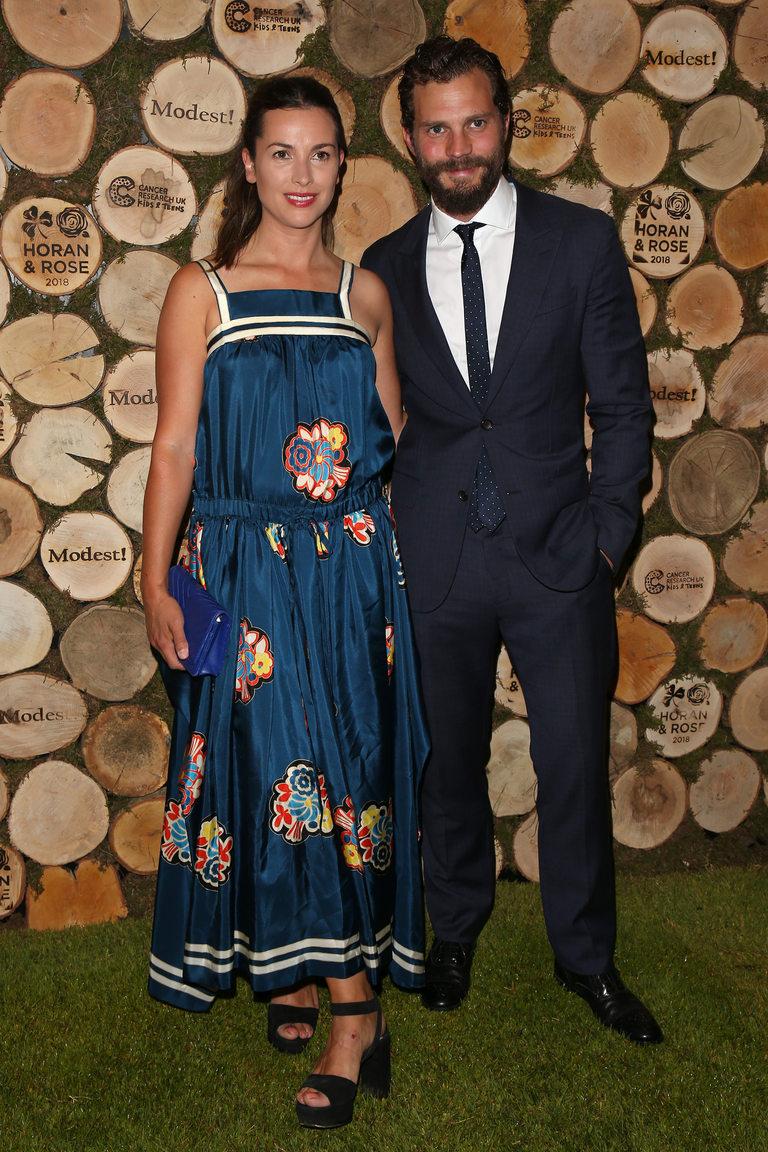 Дейми Дорнан със съпругата си Амелия
