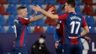 Леванте триумфира в голямото градско дерби срещу Валенсия