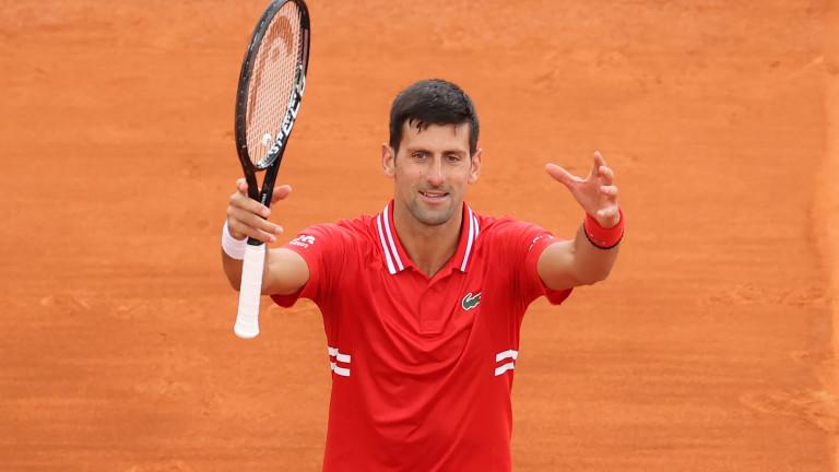 """Новак Джокович се справи с Куевас и е в третия кръг на """"Ролан Гарос"""""""
