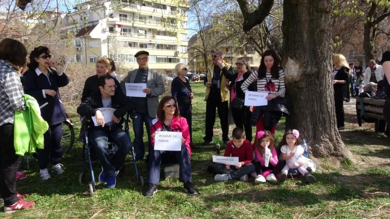 Премиерът Бойко Борисов се срещна с пловдивчаните, които протестират в