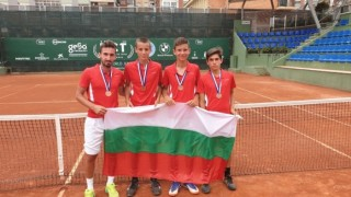 Юношите на България са трети в Европейската лятна тенис купа