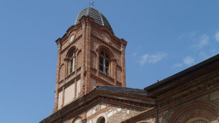 "Осветиха новия златен купол на храма ""Св. Георги"" в Одрин"