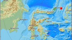 Много силно земетресение край бреговете на Индонезия