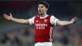 Арсенал отрече за тежка контузия на защитник