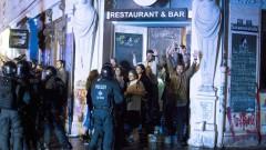 290 задържани и 213 полицаи ранени при насилието в Хамбург