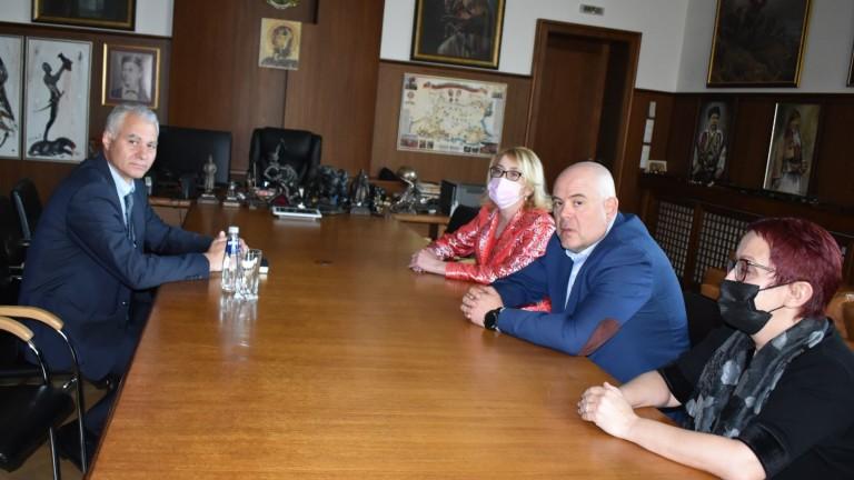 Главният прокурор на Република България Иван Гешев се е срещнал