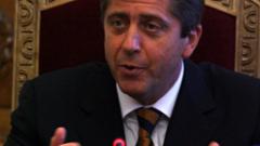 """Първанов раздразнен от """"назидателния тон"""" на френския посланик"""