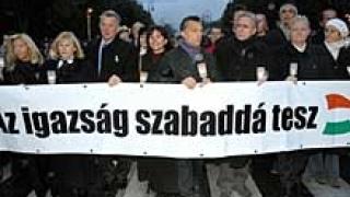 Въпреки студа в Будапеща демонстрират - искат нова Конституция