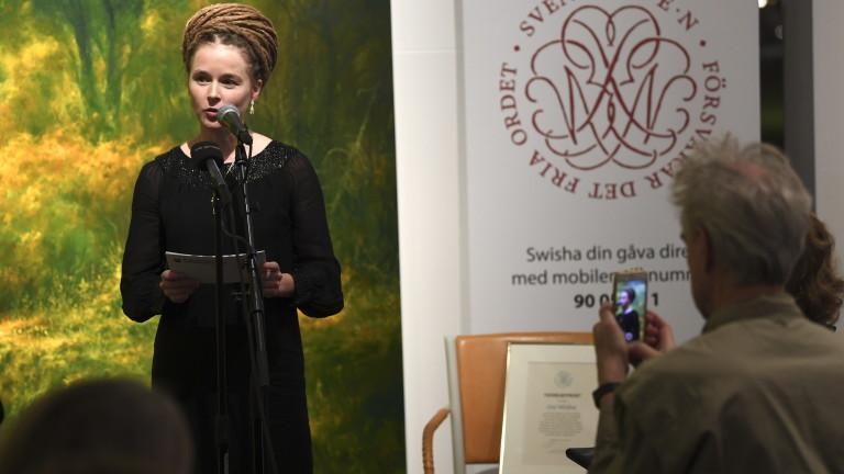 Китай заплашва Швеция заради връчването на награда за свобода на словото на китаец