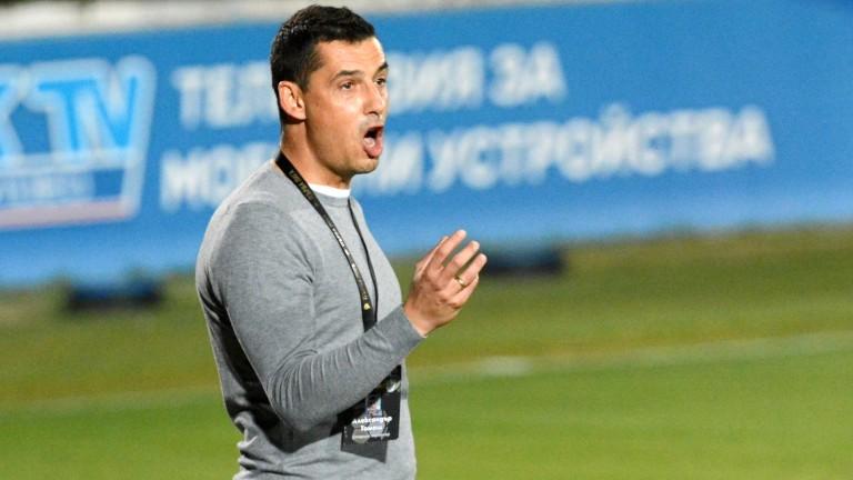 Треньорът на Берое Александър Томаш настоява отборът да бъде подсилен,