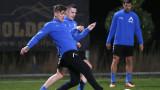 """Левски - Пюник 1:1, Спиерингс откри головата си сметка за """"сините"""""""