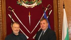 """Васил Михайлов с награда """"За принос към Министерството на отбраната"""""""