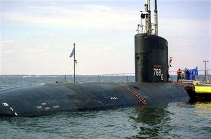 Ядрена подводница и кораб се сблъскаха в Ормузкия залив