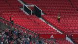 """Ето го """"обекта"""", отложил мача на Юнайтед! (СНИМКИ)"""