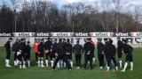 Играчите на Локомотив (Пловдив) се събират за първа тренировка