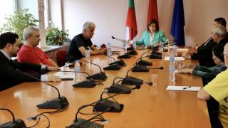 Нинова подписа споразумение с още 6 партии