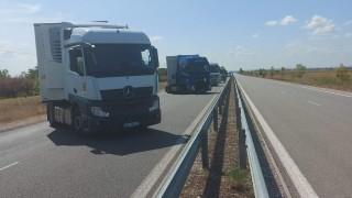 """Тираджии блокираха """"Дунав мост"""" 2 в знак на протест"""